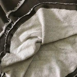 Caslon Dresses - Caslon Flutter Hem Sweatshirt Dress